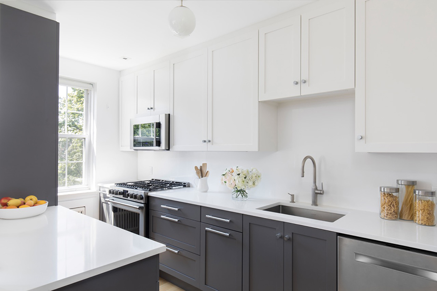 Galley Kitchen Before And After: Before And After: A Galley Kitchen Gets The Modern Treatment