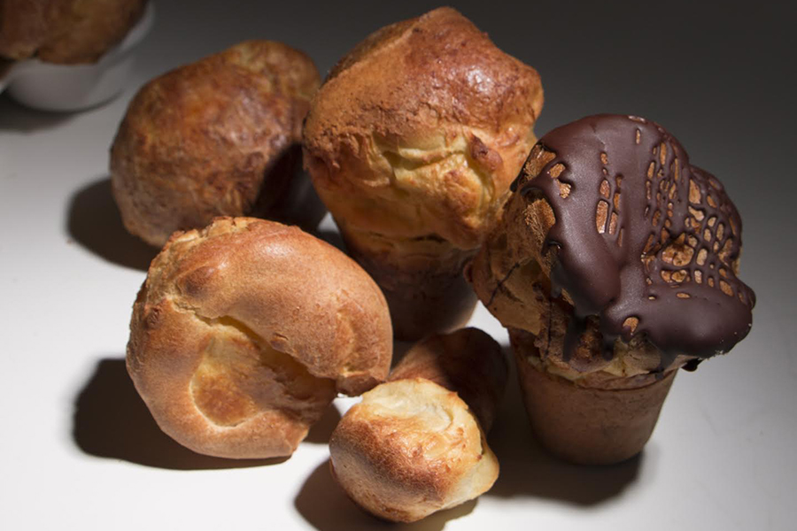 The Popover Lady is now open at the Boston Public Market