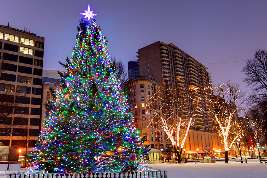 Christmas Tree Lightings and Holiday Events around Boston in 2017