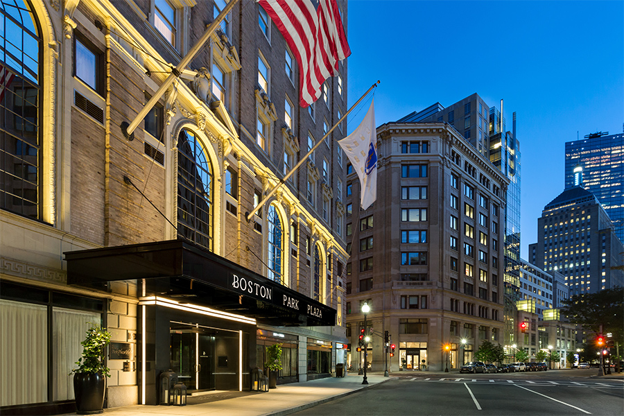 Boston Park Plaza Is This Year S Most Booked Hotel On