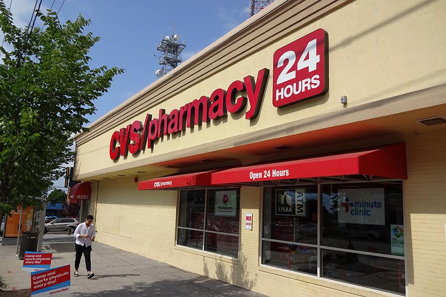 Tan CVS Drugstore in Washington DC