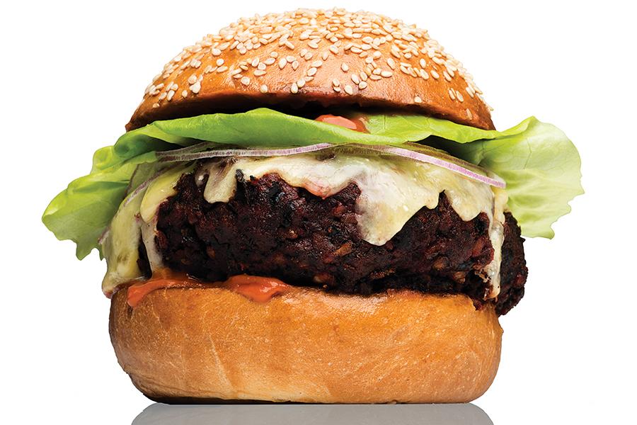 The Vegetable Burger at Craigie on Main