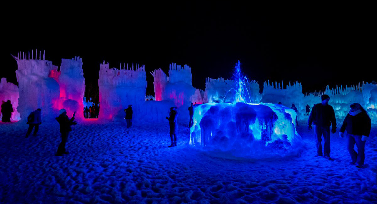 Giant Ice Castles Are Returning To New England Boston