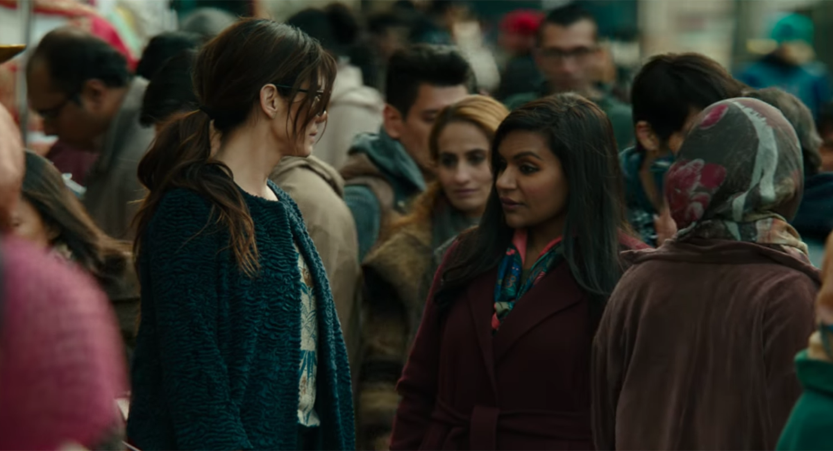 See Mindy Kaling In The First Ocean S 8 Trailer