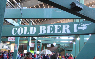 Fenway Park official beer Sam Adams
