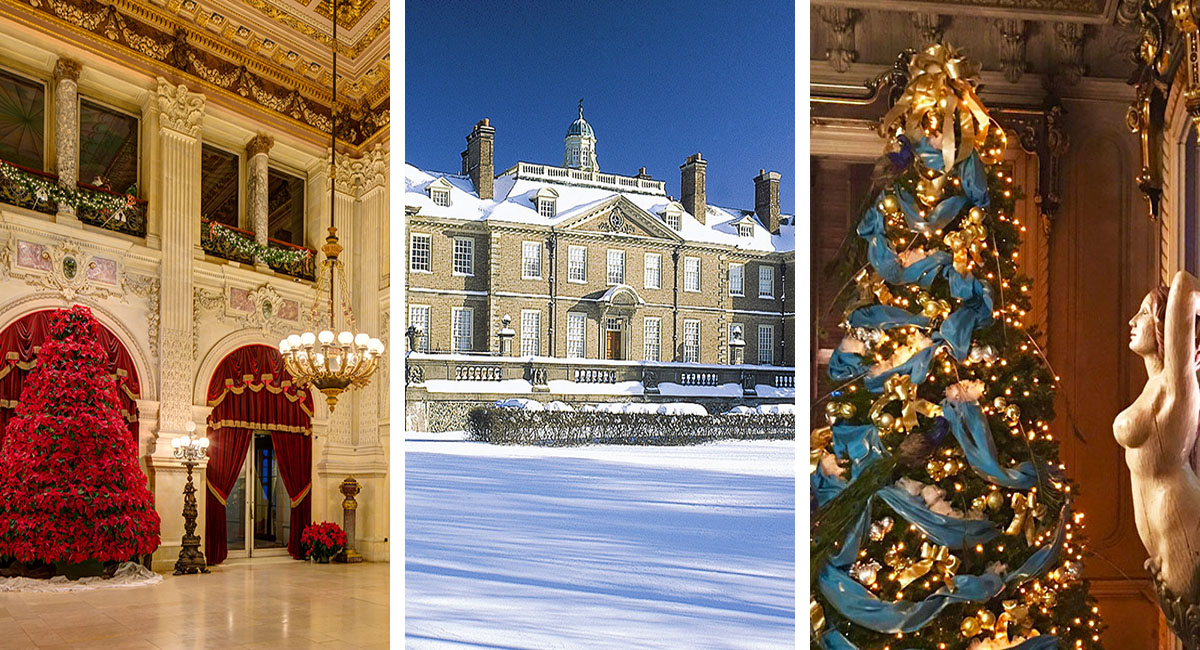 four new england house museums with stunning holiday decorations