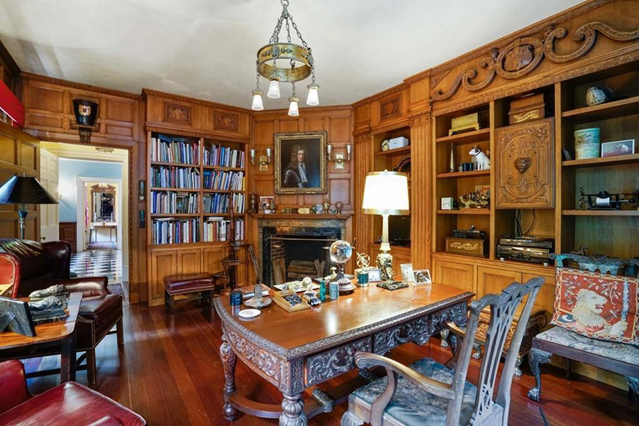 Five Homes For Sale With Stately Private Libraries