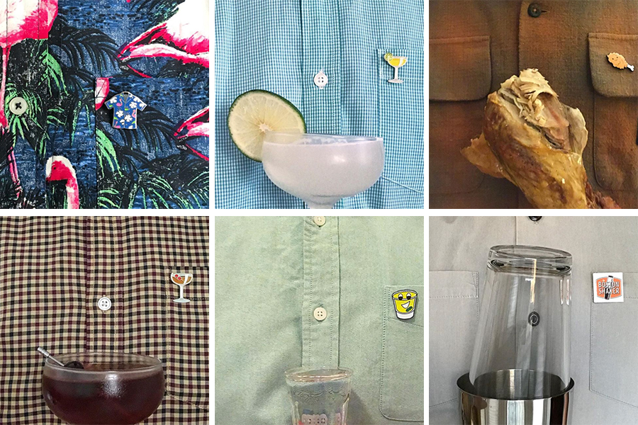 A collection of Anthony Mottla's—aka @young_overholt—#Pinception posts