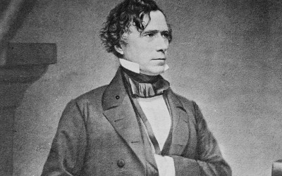 A portrait of President Franklin Pierce