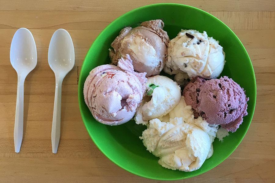 Gracie's ice cream flight