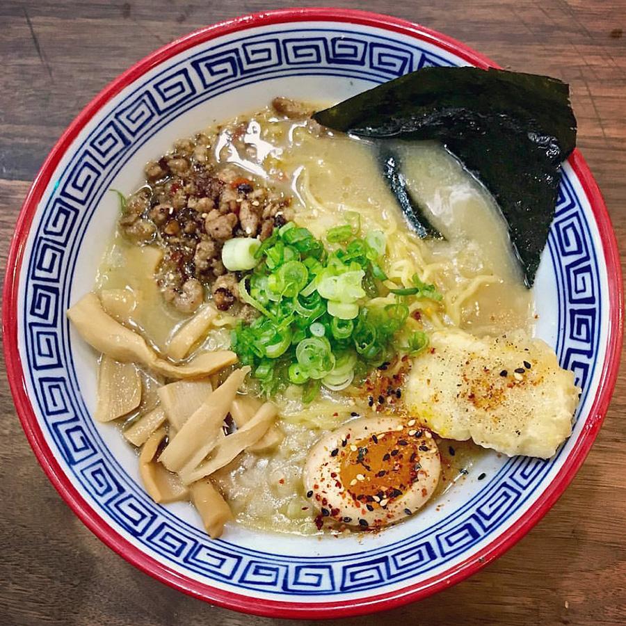 Spicy miso ramen at Hojoko
