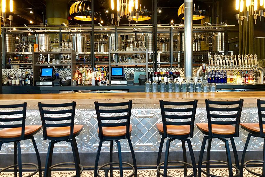 Hopsters Seaport bar
