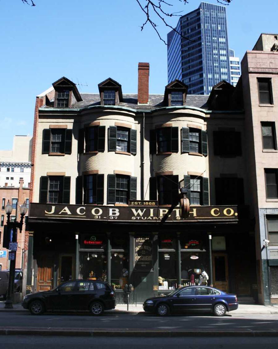 Jacob Wirth The Iconic Boston Theater District Beer Hall