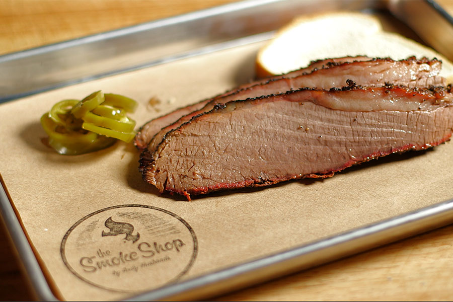The Smoke Shop's Texas-style brisket