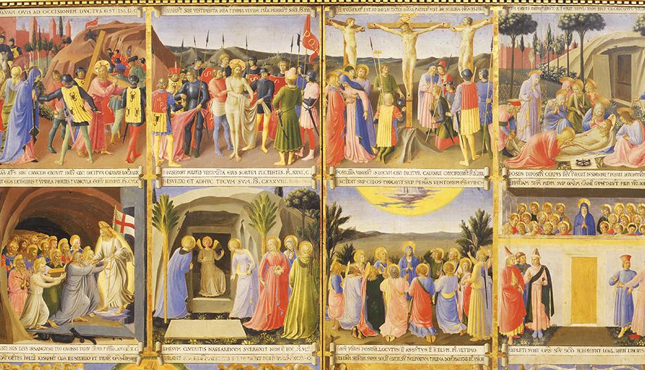 Armadio degli Argenti, 1450-1452. Tempera on panel, 123 x 60 cm (48 ...