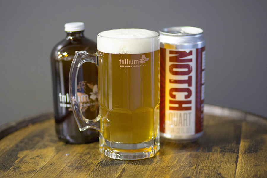 I Predict a Riot, a new lager produced by Trillium at Notch Brewing