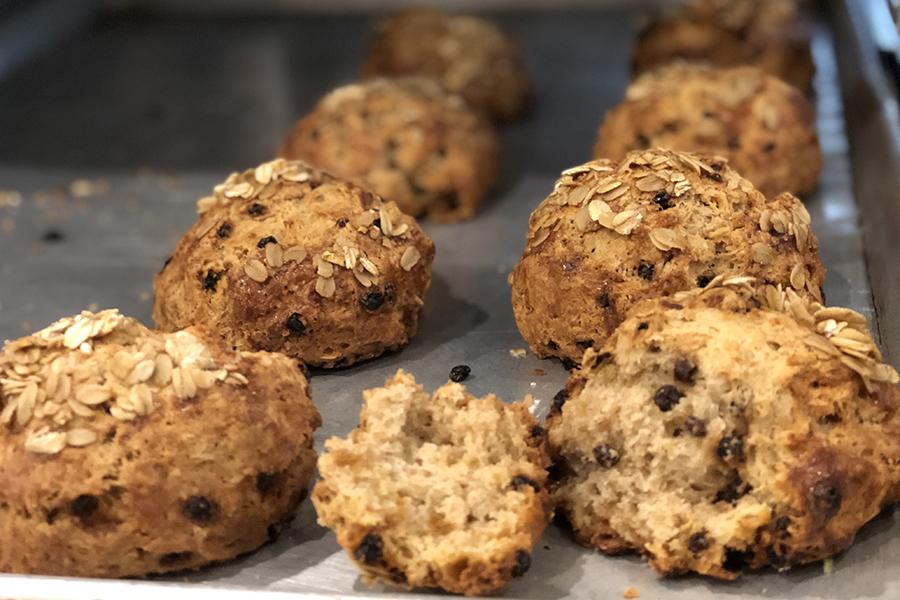 WHOLEFlour scones at Flour Bakery