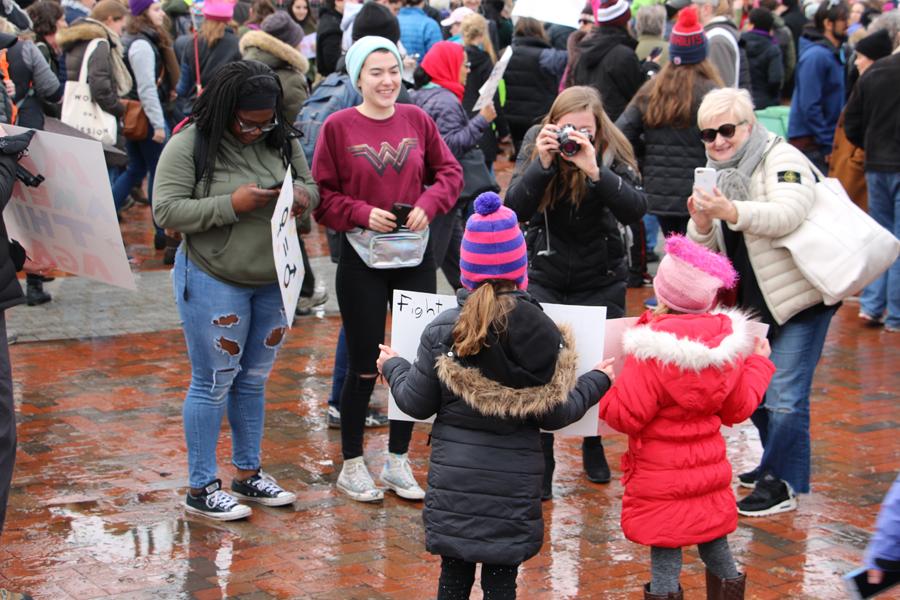 Women's March 2018 Cambridge