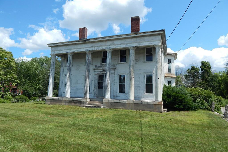 fixer upper friday a greek revival mansion in millville