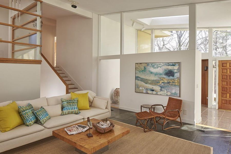 On The Market: A Midcentury Modern Home In Weston