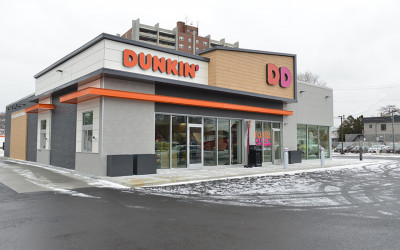 The new Dunkin' in Quincy