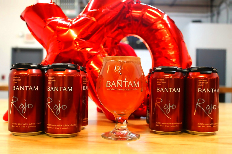 Rojo Chocolat for Valentine's Day at Bantam Cider