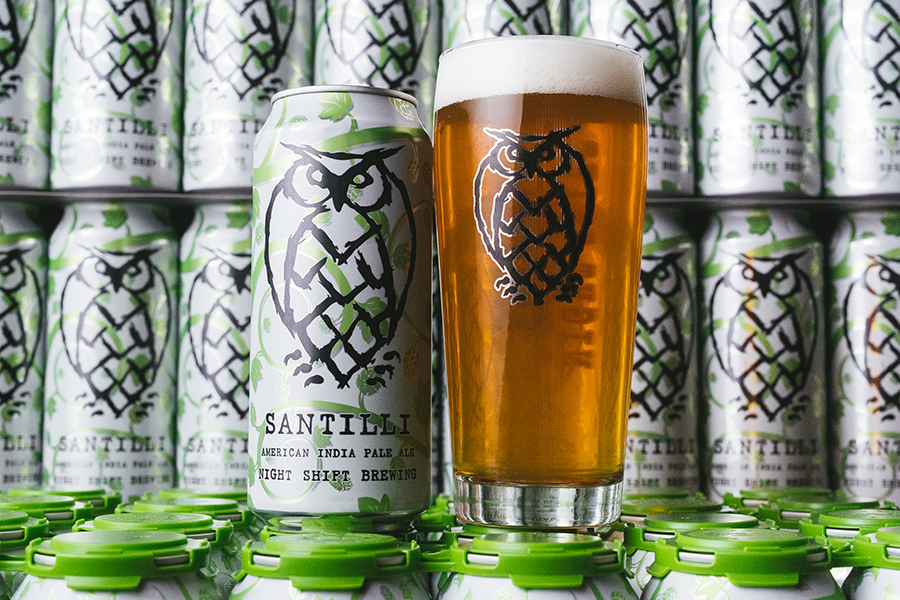 Night Shift Brewing Santilli IPA