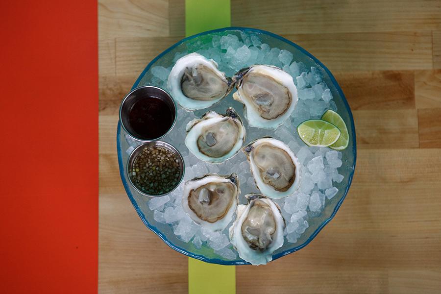 Oysters at Simjang