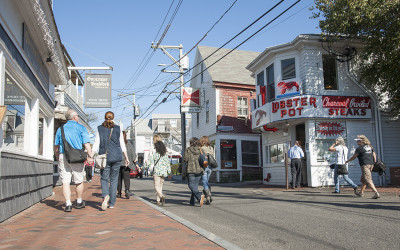 The Lobster Pot on Commercial Street in Provincetown
