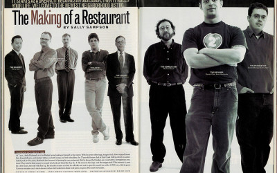 The Making of a Restaurant—from Boston magazine Jan 1997