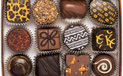 A sampler from Beacon Hill Chocolates