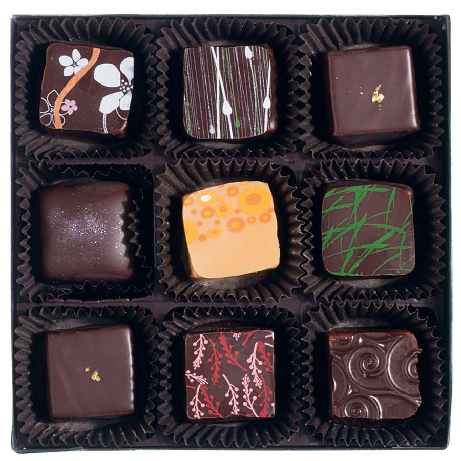 A sampler from EHChocolatier