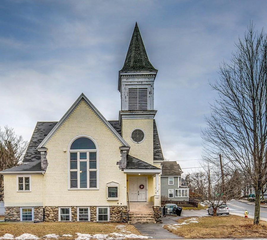 Fixer-Upper Friday: A Former Church On The Merrimac River