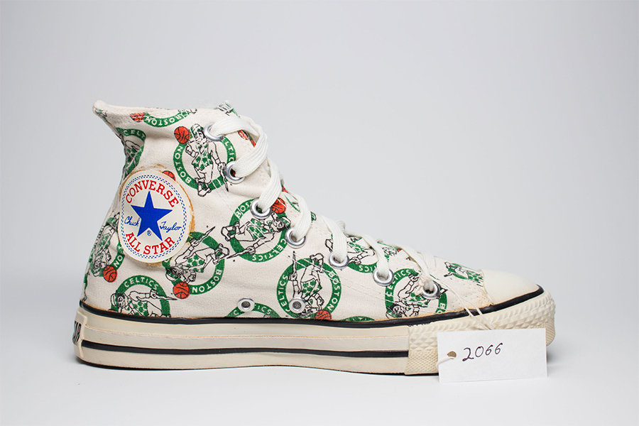 1980s archive from Converse of a boston celtics shoe