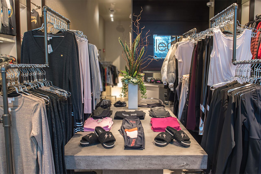A new clothing stored called Legit Activewear has opened in Chestnut Hill's The Street
