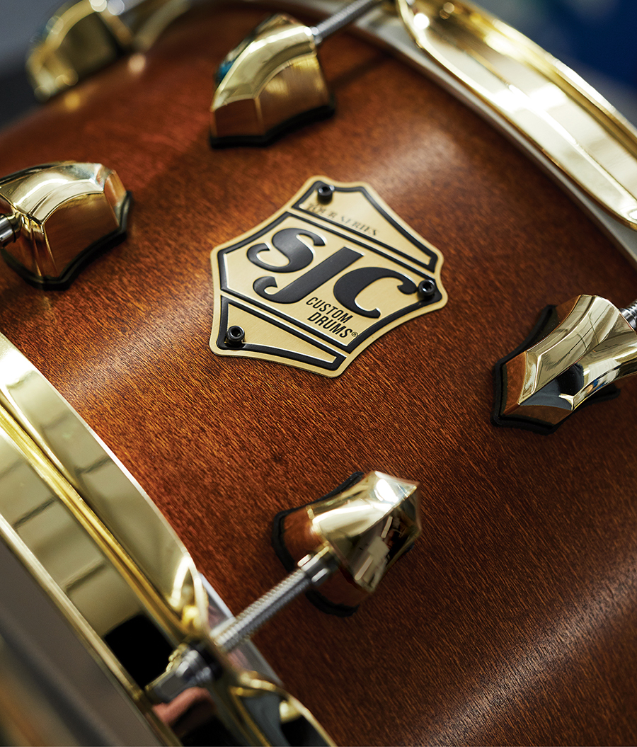 Southbridge's SJC Drums Builds for the Industry's Biggest