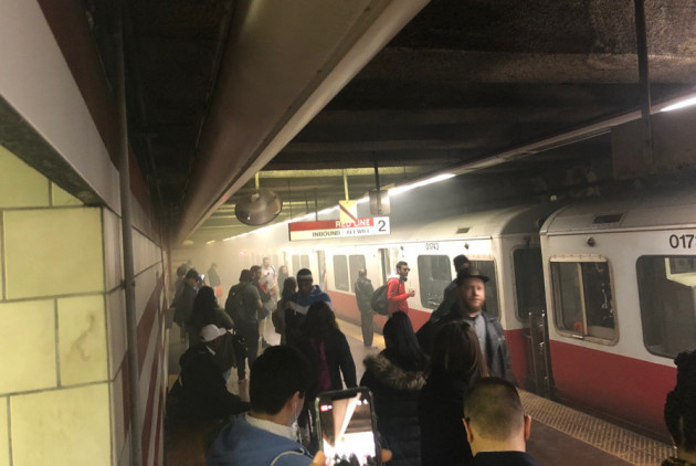 "The Red Line ""Basically Exploded"" This Morning"