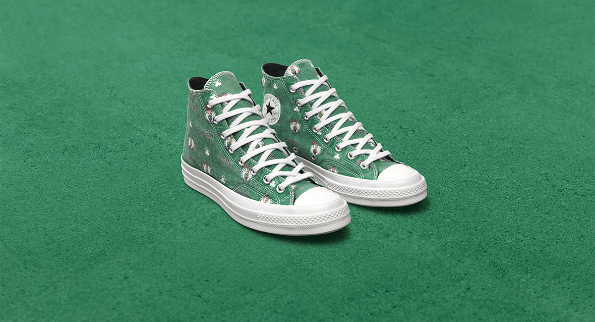 eb3955a974a4e7 Converse Debuts Celtic High Top in New NBA Collection