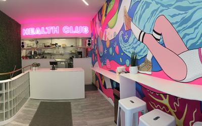 Health Club Somerville interior