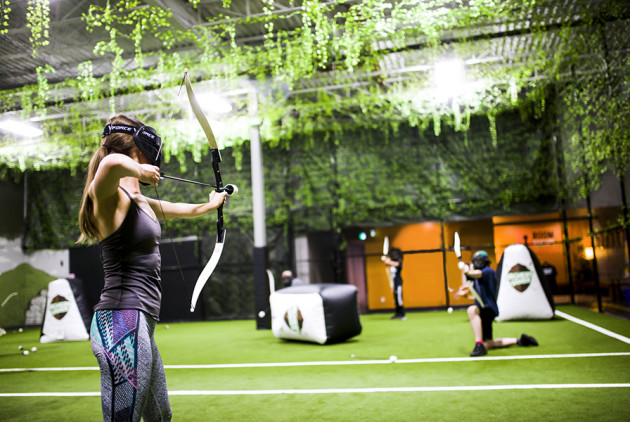 Archery Tag Is Coming to Chelsea