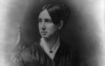 a portrait of Dorothea Dix