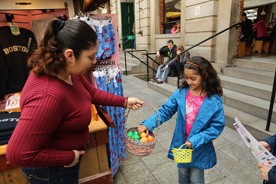 Annual Faneuil Hall Marketplace Easter Egg Hunt