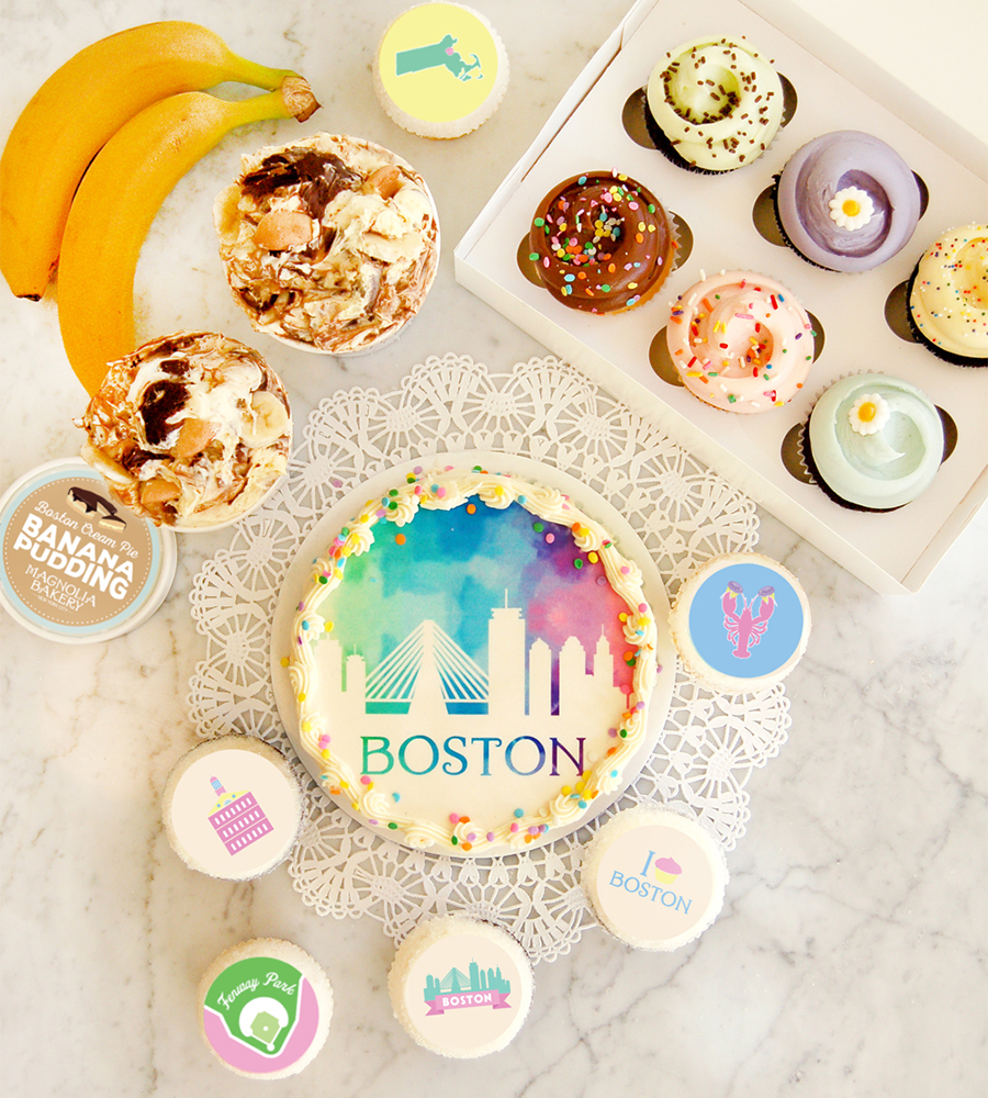 Magnolia Bakery will have exclusive themed treats at its soon-to-open Boston shop
