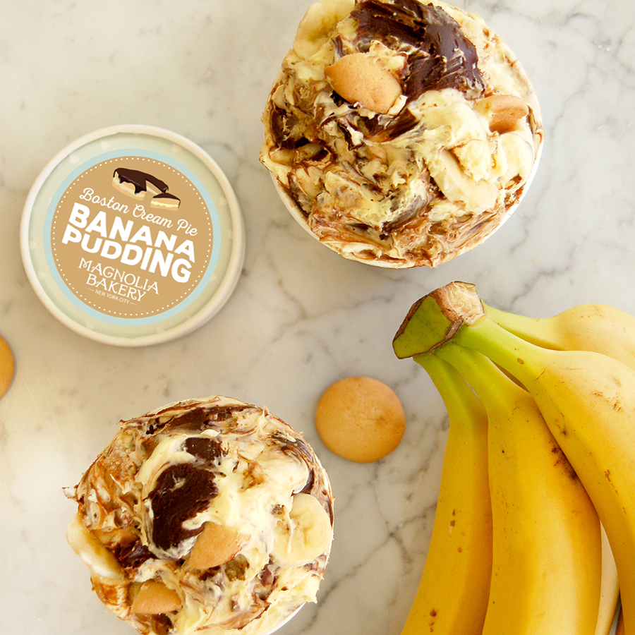 Magnolia Bakery will have an exclusive Boston cream pie banana pudding at its soon-to-open Boston shop