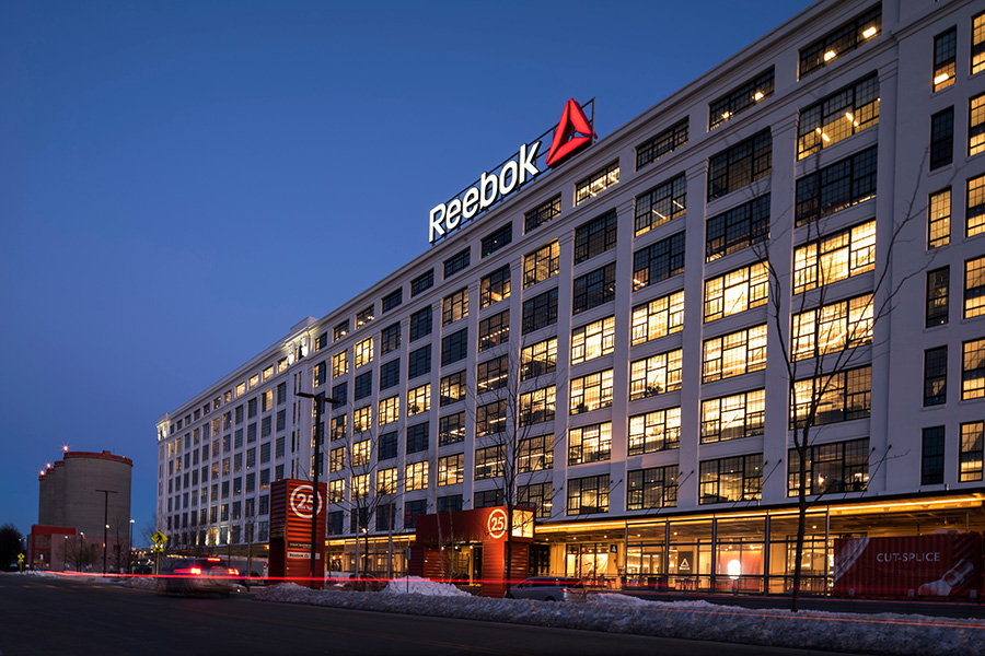 peek inside reebok s new global headquarters in the seaport