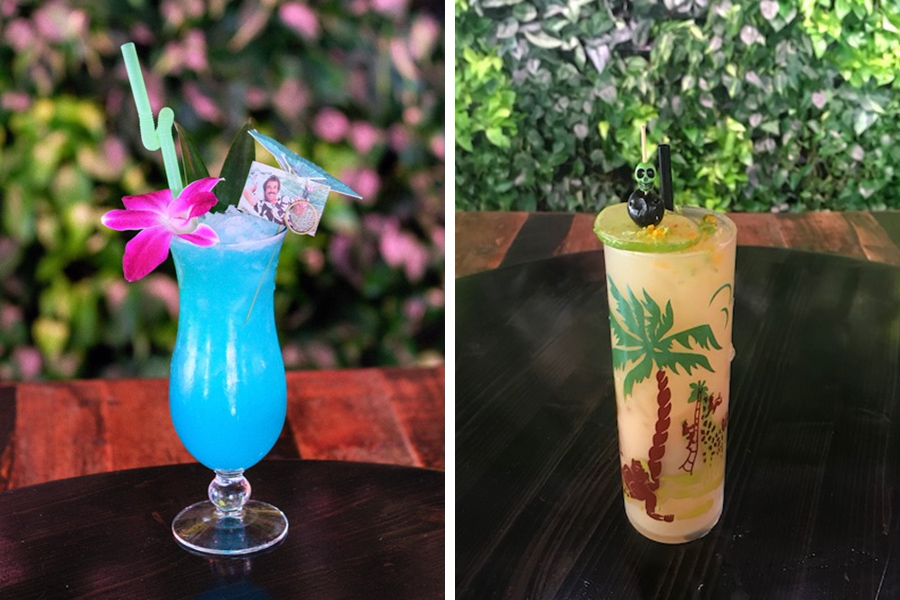 Blue Hawaii Five-0, and Nuoc Nuoc, two tiki drinks at Tiger Mama