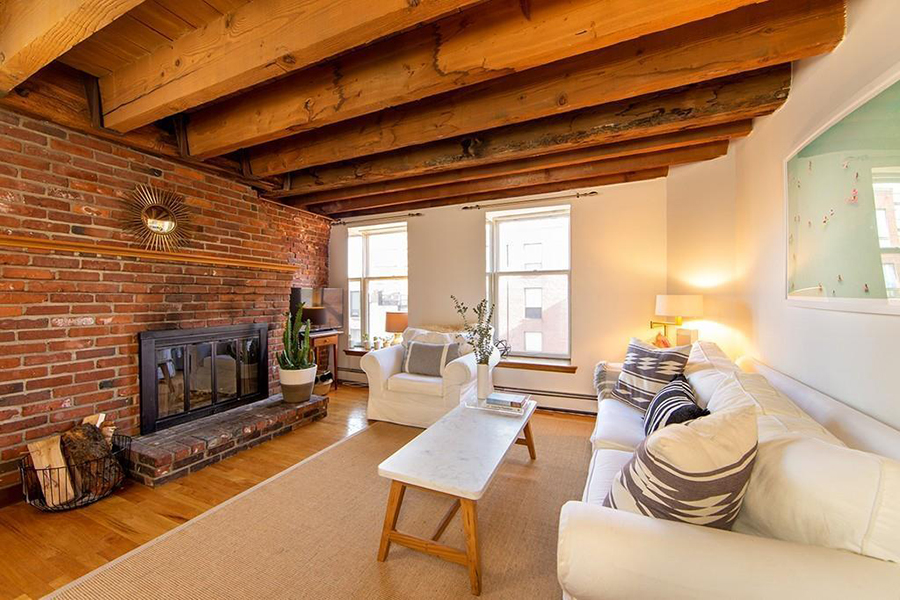 On The Market A Brick And Beam Condo In The North End
