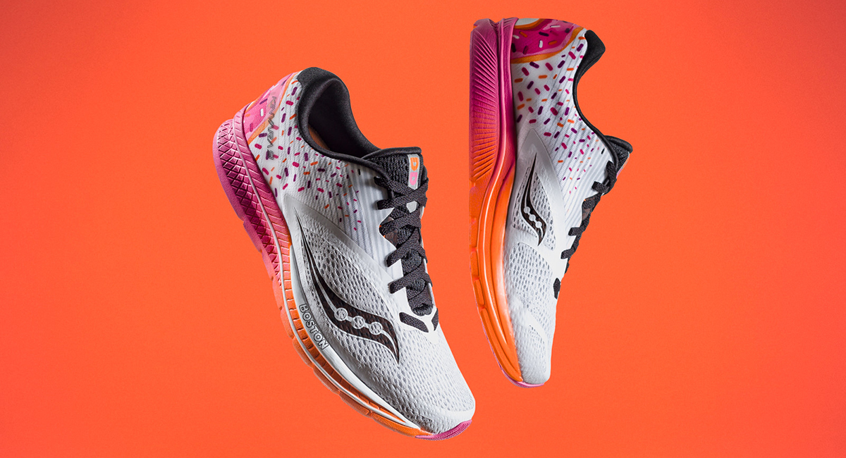Saucony Teamed Up with Dunkin  Donuts for a Running Shoe 16d0c3c54b9