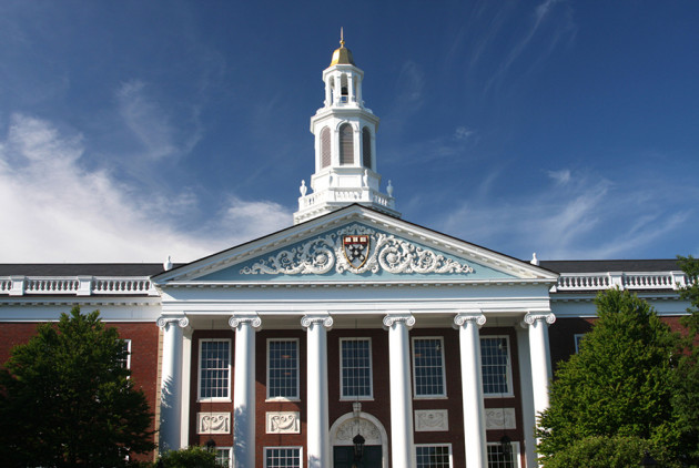 Harvard Ranked Top Business School