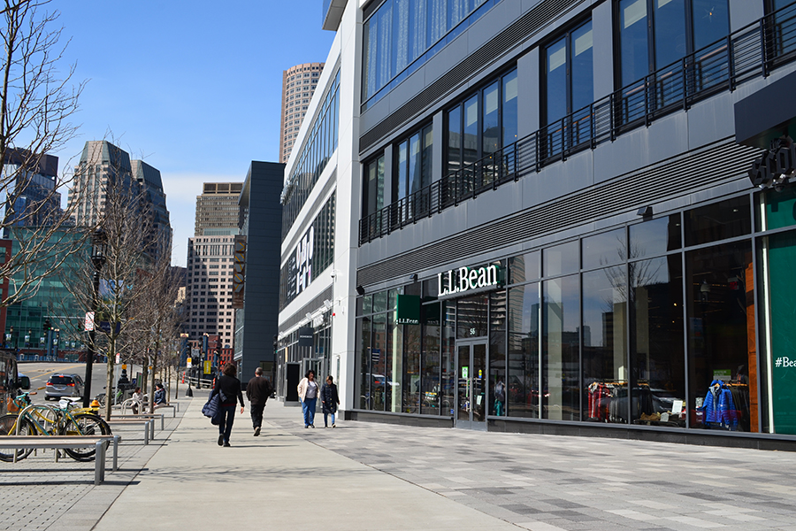 L.L. Bean's first urban store